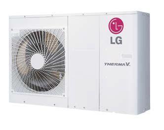 pompe a chaleur LG Therma V monobloc pour plancher chauffant rénovation et construction