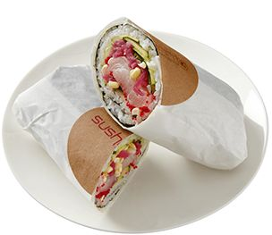 Satori roll | Sushirrito (Sushi+Burrito)