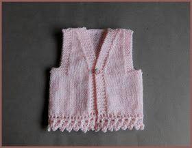 marianna's lazy daisy days: ENYA Baby Gilet / Waistcoat