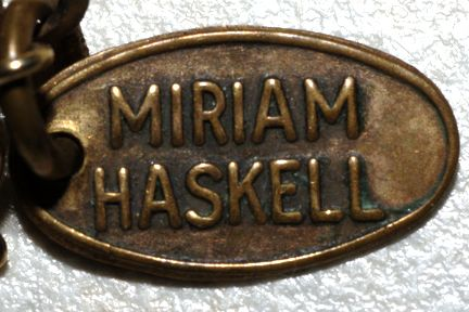 Resources for Researching Miriam Haskell Jewelry: Miriam Haskell Marks
