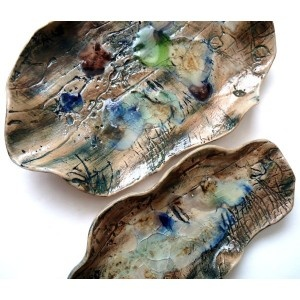 Pair of Landscape Stacking Bowls £42.00