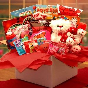 Little Sweethearts Valentine Care Package from Holiday Gifts and Gift Baskets $55