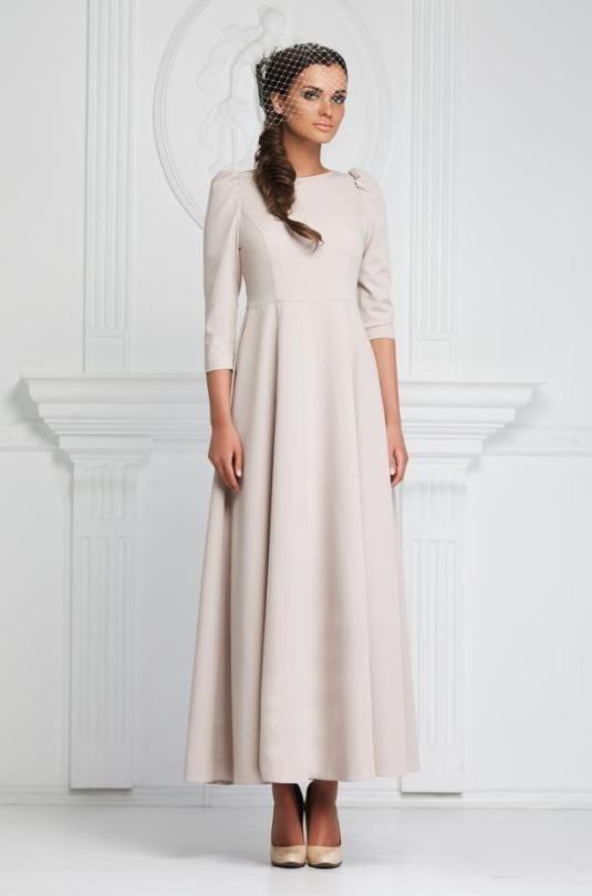Стильное платье в пол из костюмной ткани. | Платья | Одежда | Uniqhand - интернет магазин авторских работ