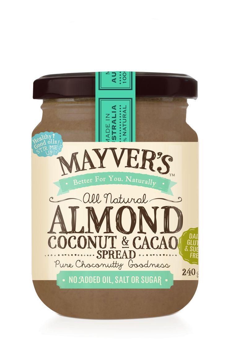 Almond Coconut & Cacao Spread