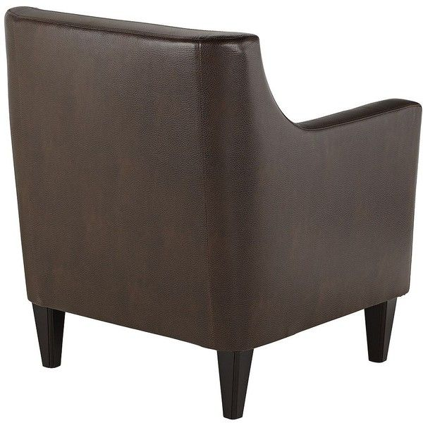 Gavin Brown Accent Chair 26043682: Universal Lighting And Decor Gavin Saddle Brown Faux