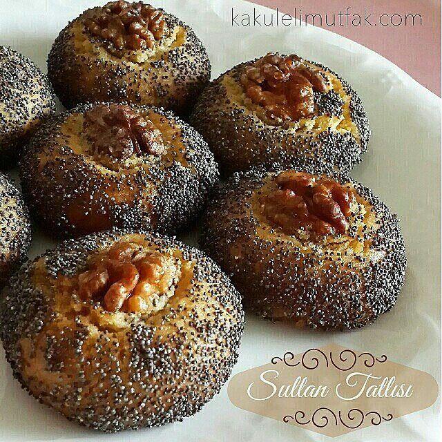 Pratik ve lezzetli, harika ikramlık bir tatlı Haşhaşlı Sultan Tatlısı 125 gr