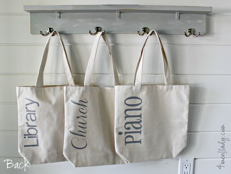Such a great idea for keeping books, music and sports gear organized around the house. ♥