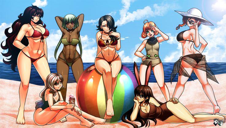 Beach Party Volume 2 | RWBY | Know Your Meme