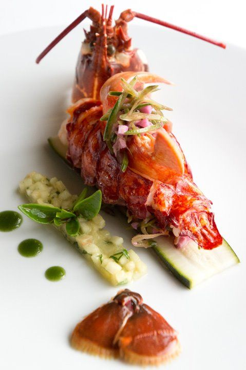 Homard. Chef Guy Martin.