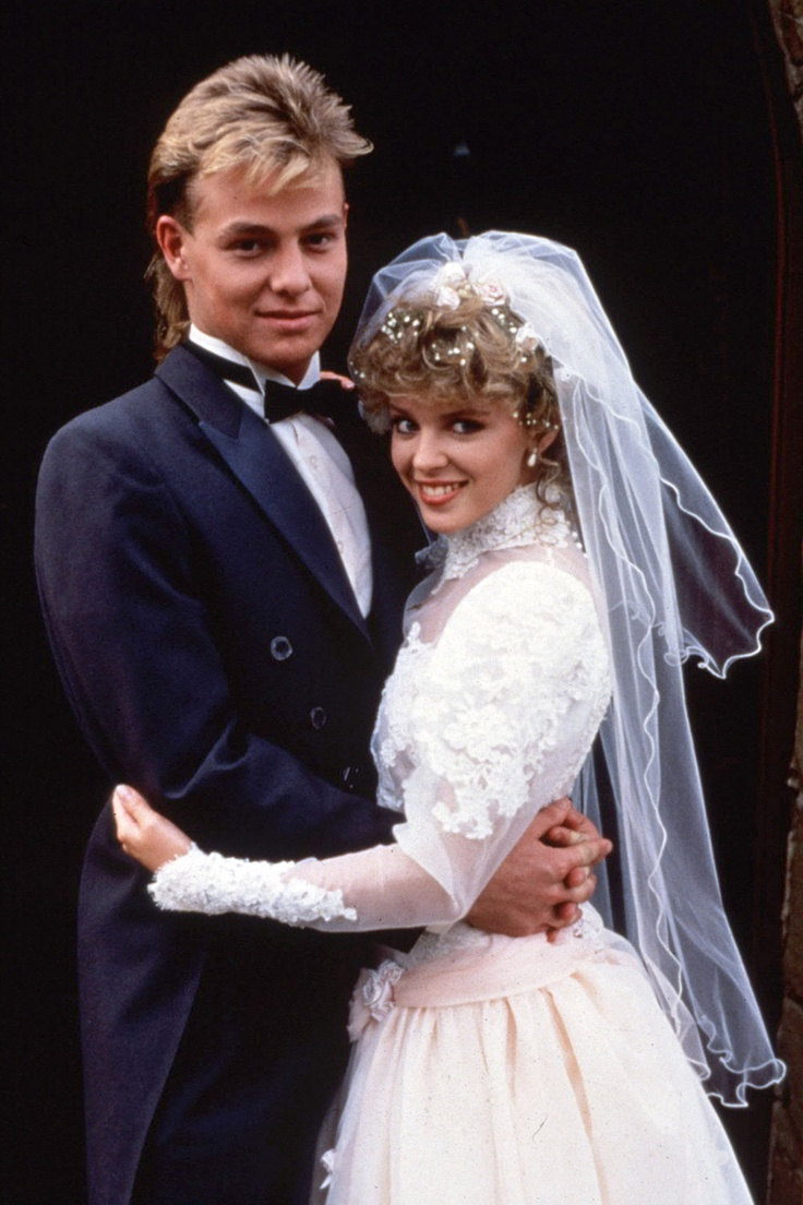 Charlene and Scott - couldn't resist for all of you lot who were growing up in the 1980's