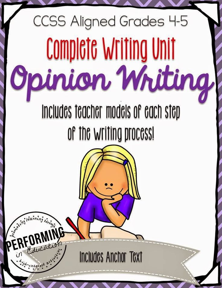 10 Mentor Texts for Teaching Opinion Writing