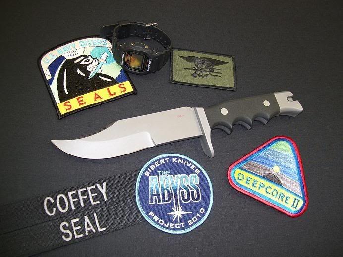 """Sibert Abyss - """"второе дыхание"""" легендарного ножа. Шейн Сиберт сделал копию Abyss, и продолжил серию, с позволения автора, Джорджа Лейнхарта."""