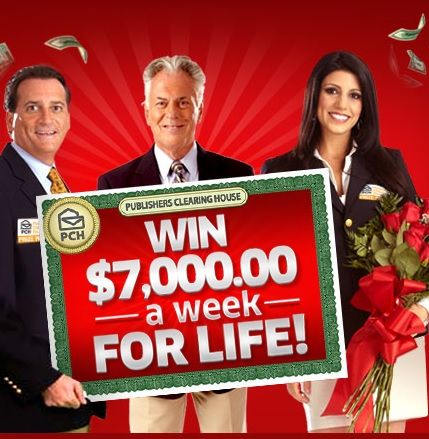 pch com sweepstakes login enter the pch win 7000 a week for life sweepstakes and be 7400