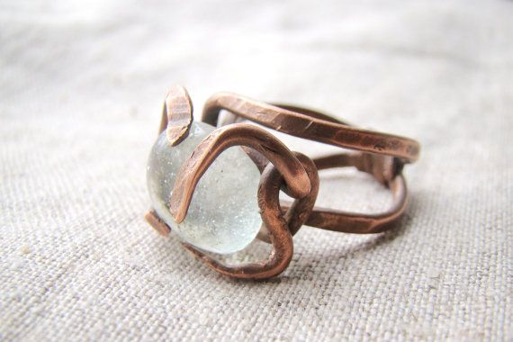 Hey, I found this really awesome Etsy listing at http://www.etsy.com/listing/128490500/wire-ring-unusual-brown-ring
