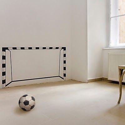 M s de 1000 ideas sobre cuarto f tbol para chico en for Vinilos para habitacion juvenil chico