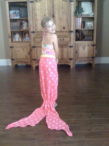 All Things Simple: Mermaid Towel Tails