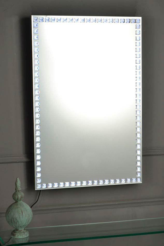 espejo led moderno artigas with espejos de diseo moderno
