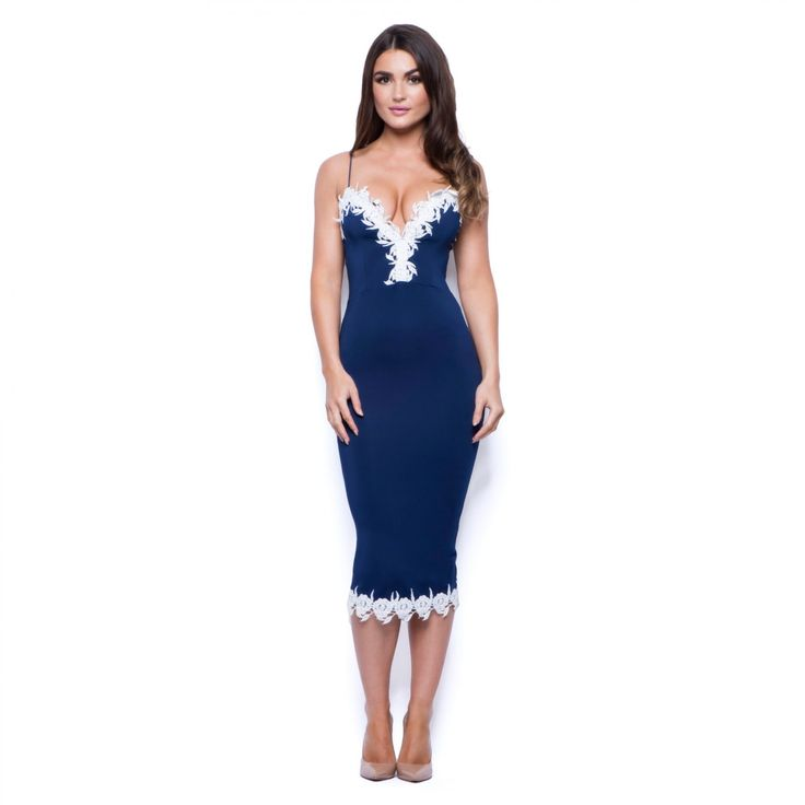 womens-sexy-evening-party-going-out-navy-blue-floral-lace-strappy-midi-dress