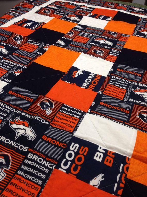 Denver Broncos Quilt