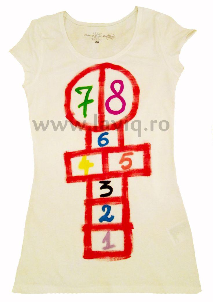 SOTRON Tricou, 100% bumbac, pictat manual in culori textile www.laviq.ro www.facebook.com/pages/LaviQ/206808016028814