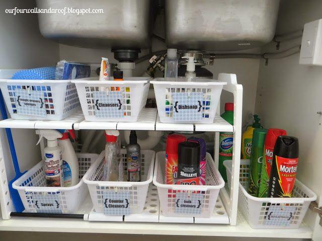 Kitchen Sink Organizer Ideas 223 best bathroom organization images on pinterest | bathroom