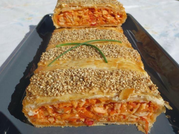 Empanada de cangrejo Ana Sevilla con Thermomix