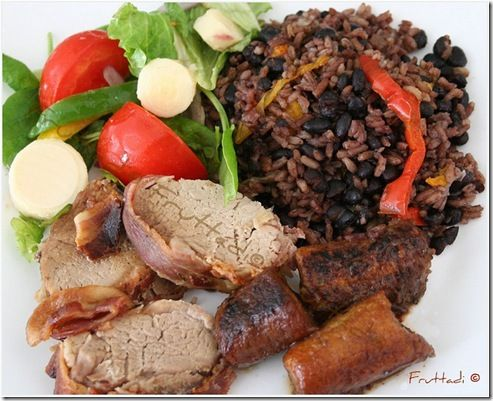 cuban rice and black beans recipes dishmaps black beans and rice arroz ...