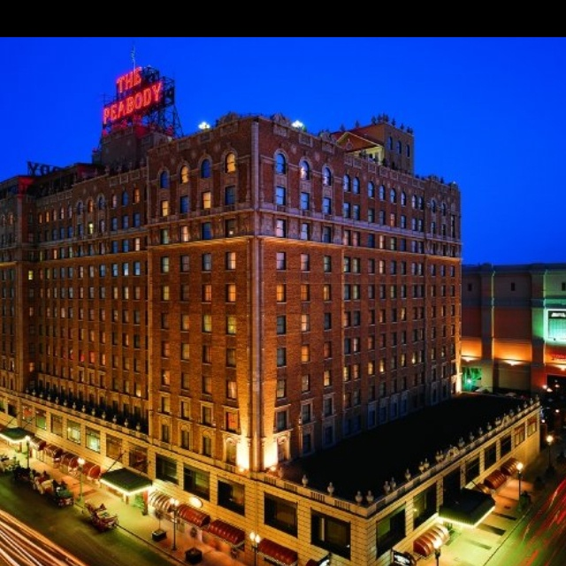 The Peabody Hotel, Memphis Tennessee  I was here in September 2013. I loved this place :) I swear it's haunted though!!