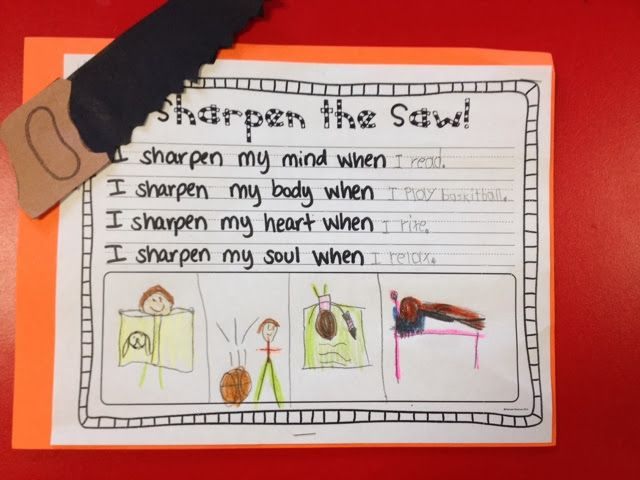 School Counselor Ideas: 7 Habits of Happy Kids - 1st Grade Style