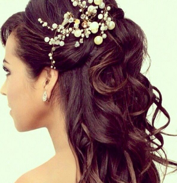 Hairstyle for wedding day!