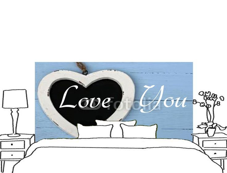 Custom-made wall murals - bedhead wall murals made-to-measure http://www.wallsweethome.fr/fr/deco-personnalisee/stickers-tete-de-lit/