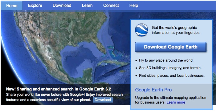 how to save a 3d fly map on google earth