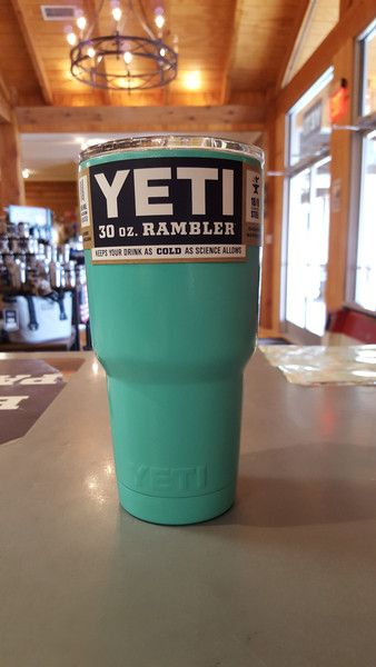 Yeti Rambler 30 ounce - Custom Powder Coated TealTumbler Due to high demand - Item Ships within 7-10 days. *Powder Coating Process is applied by Patriot Jacks