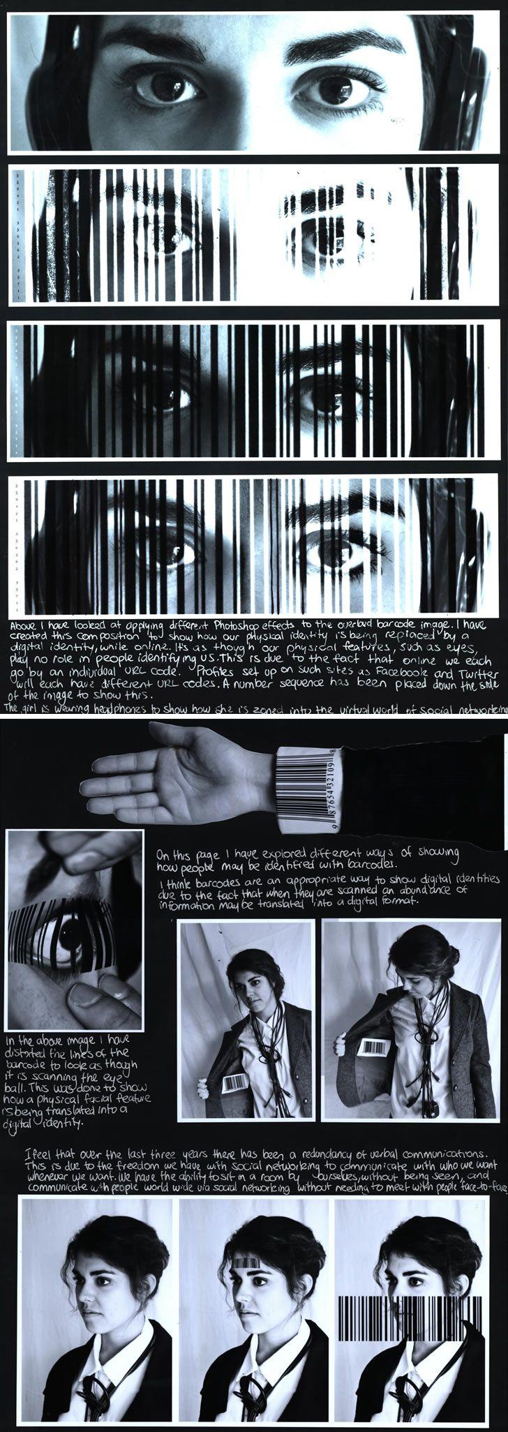 Barcode portraiture