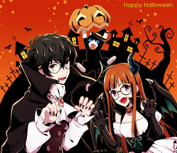 makoto x reader halloween
