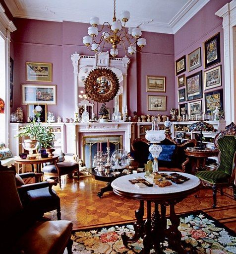Victorian Sitting Rooms: 389 Best Images About Pink Living Rooms On Pinterest