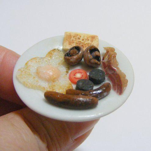 Full English Breakfast Miniature Food Ring   Miniature by NeatEats, £13.99