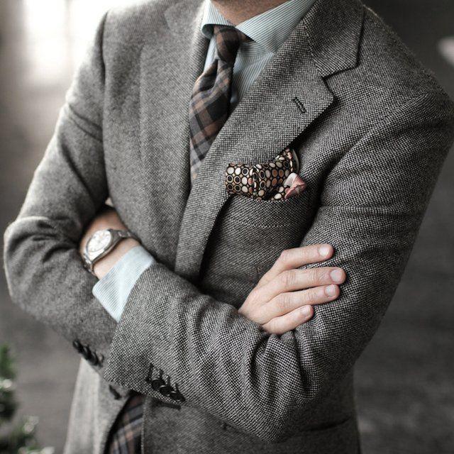 Tweed Blazer by P Johnson