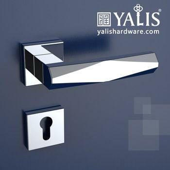 Exterior Front Rotatory Door Handle Lock Lever Handle And Door Lock
