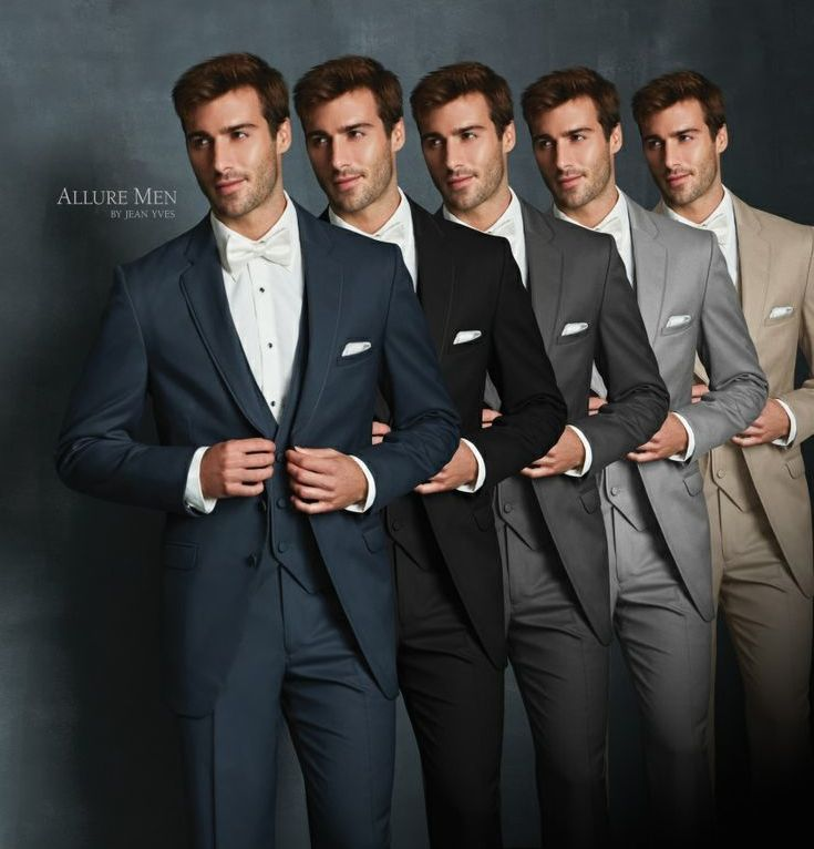 The 48 best our closet images on pinterest allure men tuxedos are available on slate blue black steel grey heather grey and tan they are modern fits and fabrics that use little or no satin junglespirit