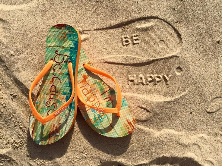Happy Feet - fun flip flops from Moeloco that are also good for your sole ;)