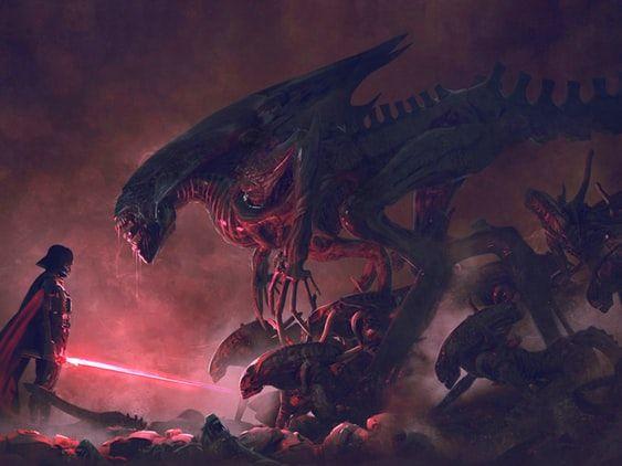 Vader vs Xenomorph Queen - Album on Imgur