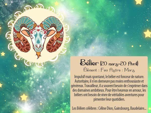 Pour envoyer cette carte horoscope à vos amis Bélier, c'est par ici ! http://www.starbox.com/carte-virtuelle/carte-horoscope/carte-horoscope-belier
