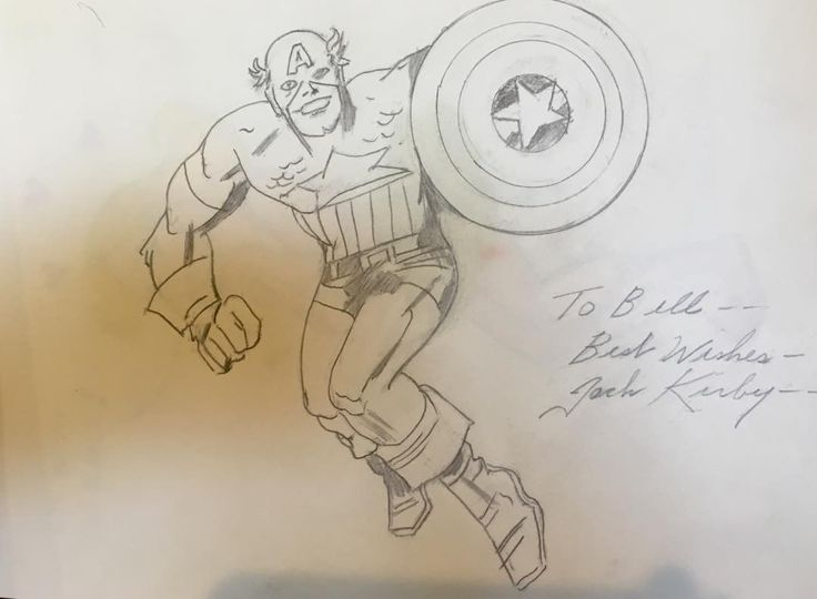 """from Bill Mumy's Instagram:"""" From my friend, the late great Jack King Kirby."""""""