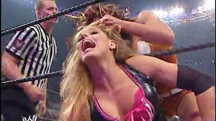 WWE warrior woman -WWE Survivor Series 2005 - Melina Perez Vs Trish Stratus