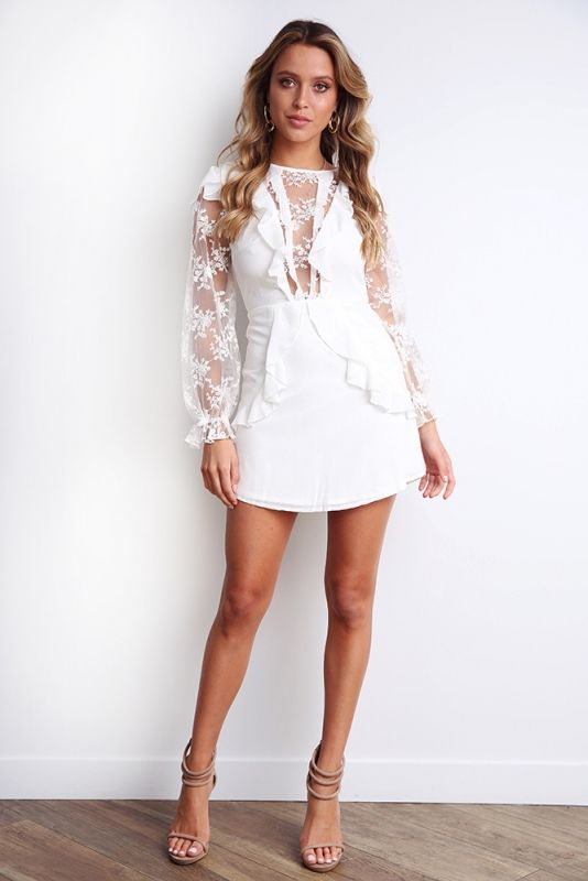 9b761b6e80e7 Having A Blast Dress - White - Stelly | Graduation 2018 in 2019 ...