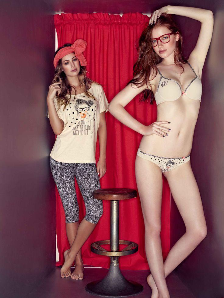 #pijamas #lencería #homewear #verano #verano2014 #summer #photocabine #collection #moda #design #fashion #photo #models