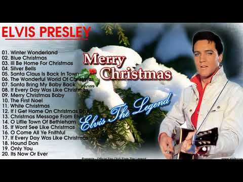 Elvis Presley Blue Christmas Greatest hits | Best Of Elvis Presley Christmas Songs New Christmas - YouTube