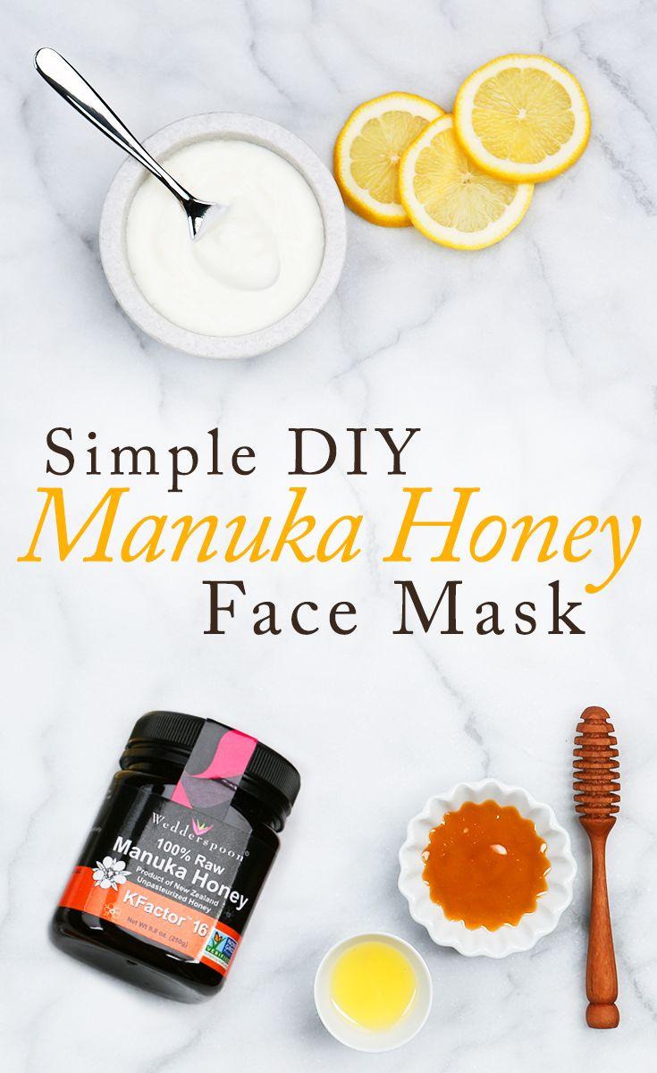 This do-it-yourself Manuka Honey mask is sure to get your skin glowing! Ingredients include: Greek yogurt, Wedderspoon Manuka honey and lemon juice. See the recipe!