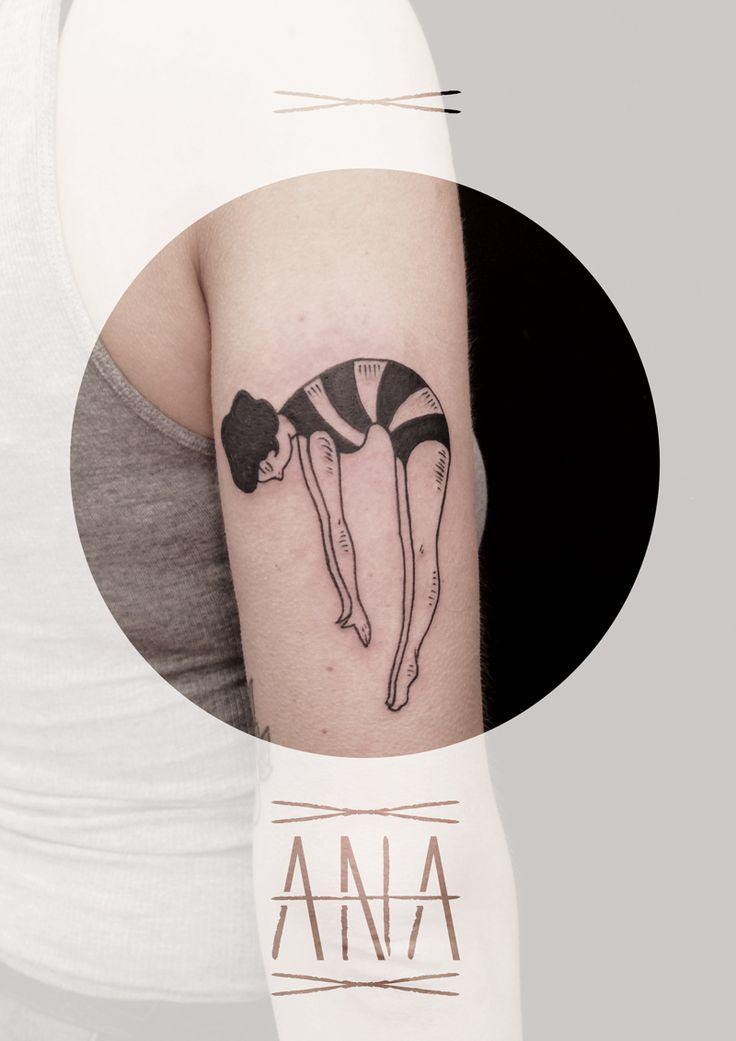 ANA | Toe Loop Tattooing